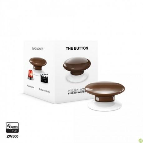 FIBARO The Button Brown FGPB-101-7