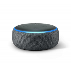 Echo Dot (3rd generation 2018) by Amazon - Smart speaker with Alexa integration - Charcol