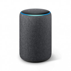 Echo Plus ( 2ª generation ) - Integrated Smart Home Hub and premium sound - Anthracite fabric