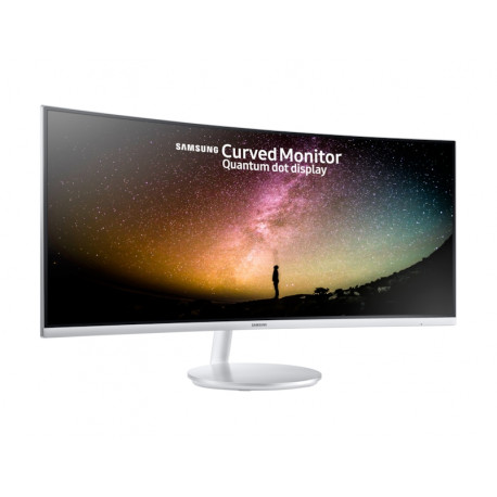 """Monitor Samsung 34"""" Curved Business C34F791WQU with Viewing comfort"""