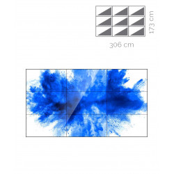 Videowall Samsung Mod. UD46E-B 3x3