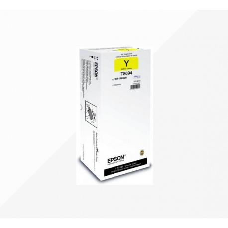 Epson T8694 Cartuccia originale Inkjet C13T869440 Giallo XXL