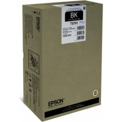 Epson T9741 Cartuccia originale Inkjet C13T974100 Nero XXL per la WorkForce Pro WF-C869R