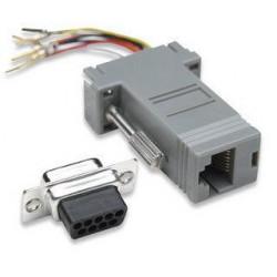 Adattatore Modulare DB 9p.F / RJ45 8 fili