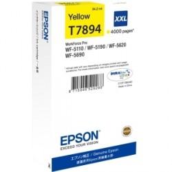 Epson C13T789440 Cartuccia inchiostro Epson Originale - Giallo - Ad inchiostro - 4000 pagine