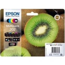 Cartuccia inchiostro Epson Claria Premium 202XL Originale Multi-pacco - Nero, Foto nero, Ciano, Magenta, Giallo C13T02E74010