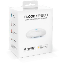 Fibaro Flood Sensor, compatibile con Apple HomeKit sensore allagamento