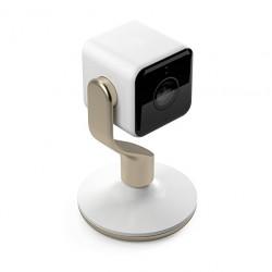 Hive View Telecamera HD 1080p Wifi Monitoraggio Persone e Suono, Bianca e Oro
