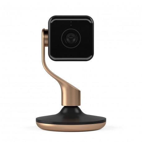 Hive View Telecamera HD fino a 1080p Wifi Monitoraggio Persone e Suono, Nero & rame