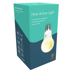 Lampadina Hive Active Light a intensità regolabile da bianco freddo a caldo. Richiede Hub Hive - Compatibili Google Home