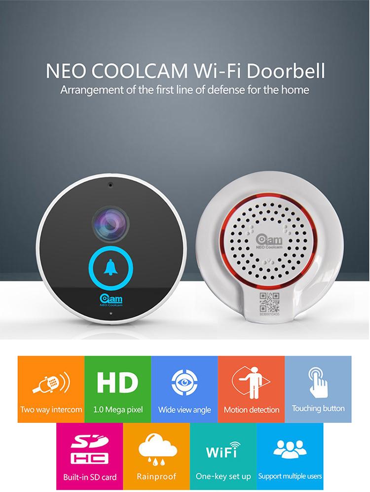 Cam Neo Coolcam Door Bell Door Chime Speaker